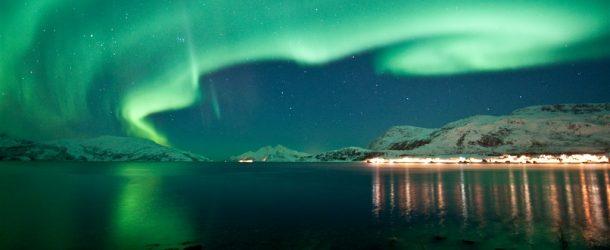 Tromsø: aurora boreale tra i ghiacci