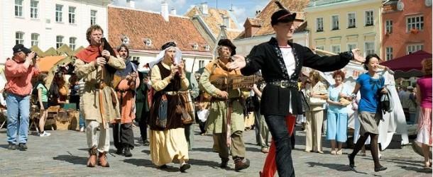 La sagra del centro storico di Tallin