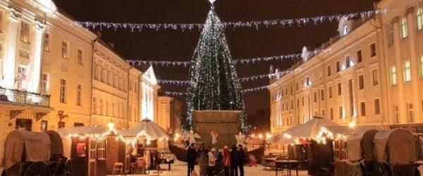 La fiera di Natale di Tartu