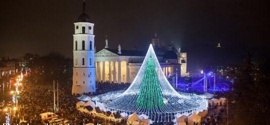 I mercatini di Natale di Vilnius