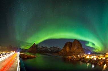 A caccia dell'aurora boreale