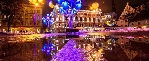 Staro Festival della Luce di Riga