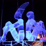 jelgava riga lettonia festival sculture ghiaccio paesi baltici