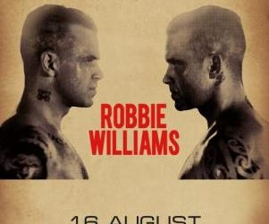 Robbie Williams a Vilnius
