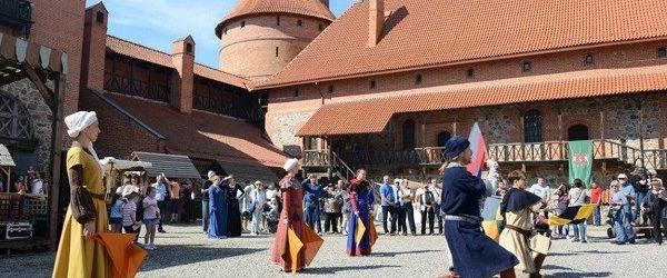 Giornate dei mestieri antichi nel castello dell'Isola di Trakai