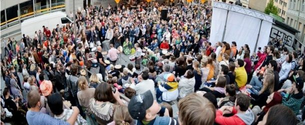 Vilnius: giornata della musica da strada
